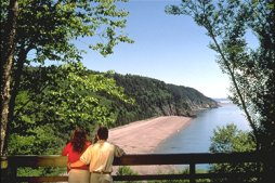 The Fundy Trail - St. Martins - Photo Credit: Tourism New Brunswick